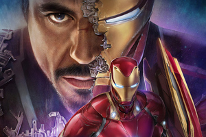 Tony Stark Iron Man 4k Wallpaper