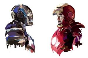 Tony Stark Iron Man Art Wallpaper