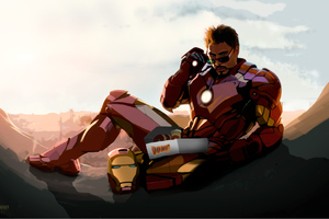 Tony Stark Loves Donuts