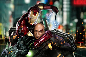 Tony Stark Vs Lex Luthor