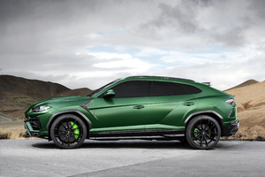 TopCar Lamborghini Urus 2018 Side View Wallpaper