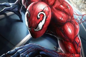 Toxic Spider Wallpaper