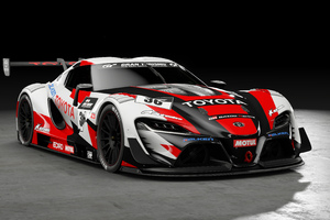 Toyota FT 1 Vision Gran Turismo Wallpaper
