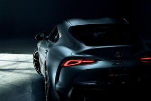 Toyota GR Supra 2019 Rear Wallpaper