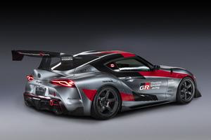 Toyota Gr Supra Track Concept 5k Wallpaper