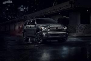 Toyota Sequoia Nightshade 5k Wallpaper