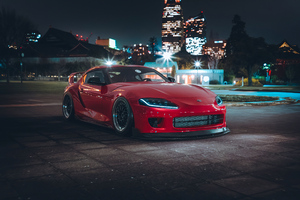 Toyota Supra 2020 Tuned 4k Wallpaper
