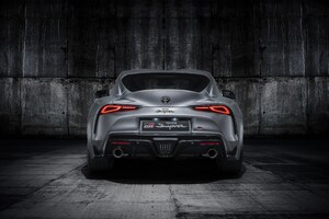 Toyota Supra Grey Studio Rear