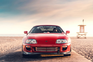 Toyota Supra Old 4k Wallpaper