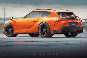 Toyota Supra Wagon Concept Art 4k