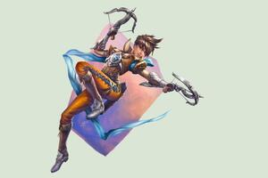 Tracer Overwatch 4k Wallpaper