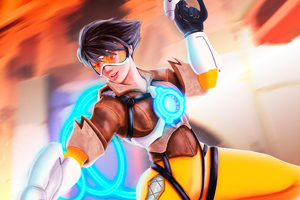 Tracer Overwatch Artwork New