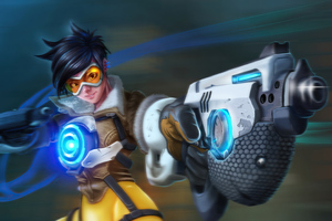 Tracer Overwatch Fanart 4k Wallpaper