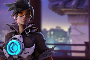 Tracer Overwatch Game Wallpaper