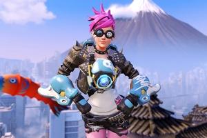 Tracer Overwatch Girl Wallpaper