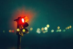 Traffic Red Light Wallpaper