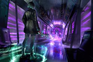 Train Of The Underworld Energy Wallpaper