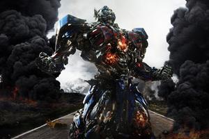 Transformers 5 Poster Fan Art