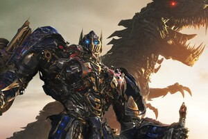 Transformers Age Of Extinction Poster Wallpaper