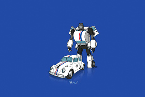 Transformers Minimal Art 4k