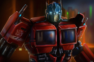 Transformers Optimus Prime 4k