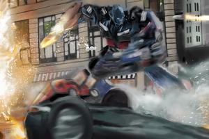 Transformers Optimus Prime 8k Wallpaper
