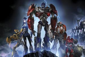 Transformers Prime Wallpaper