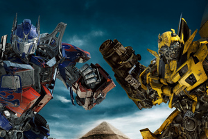 Transformers Revenge Of The Fallen 5k Wallpaper