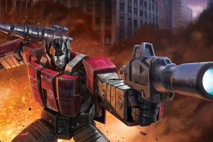 Transformers Sideswipe 4k