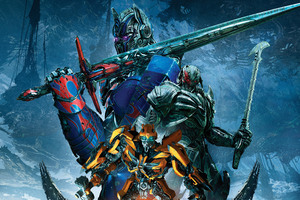 Transformers The Last Knight Bumblebee Megatron Optimus Prime 4k 5k