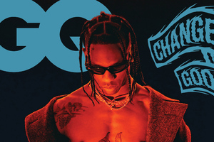 Travis Scott Gq Wallpaper