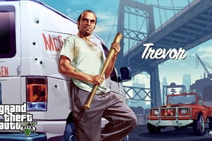 Trevor Character From Gta 5 Wallpaper