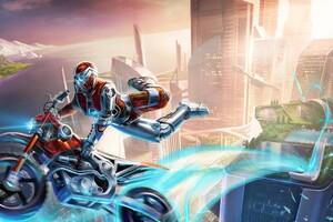 Trials Fusion Game Wallpaper