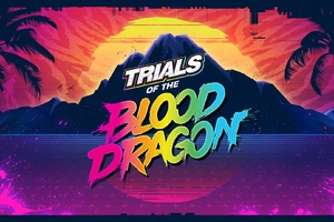 Trials Of The Blood Dragon Game Wallpaper