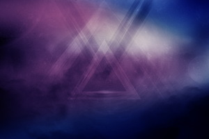 Triangle Abstract Art Hd Wallpaper