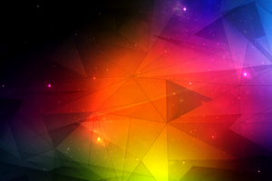 Triangle Abstract Mesh 4k Wallpaper