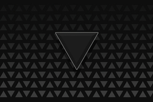Triangle Dark Black 4k Wallpaper