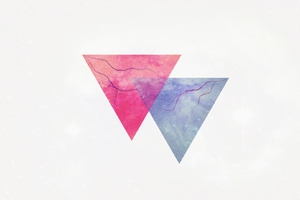Triangle Minimalsim Wallpaper