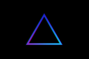 Triangle Shape Minimal 4k