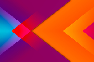 Triangle To Left Abstract 8k Wallpaper