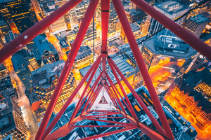 Triangle View From Crane Top 4k Wallpaper