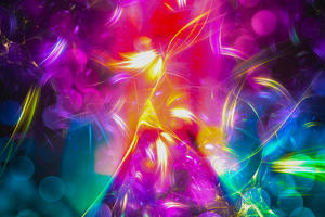 Triangles Collision Abstract 4k