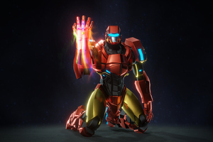 Tribute To Iron Man Wallpaper