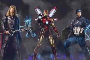 Trinity Marvel 4k