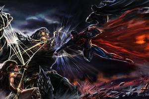 Trinity Vs Doomsday Wallpaper