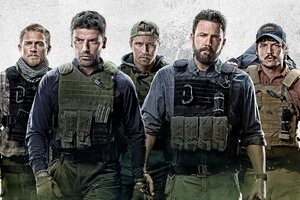 Triple Frontier Movie Poster Wallpaper