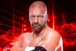 Triple H WWE 2K19