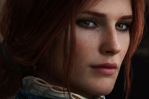 Triss Merigold Witcher 3 Cosplay 4k Wallpaper