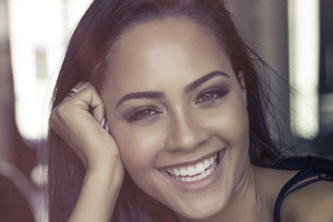 Tristin Mays Cute Smiling 4k Wallpaper