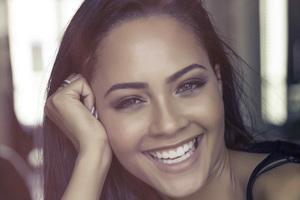 Tristin Mays Cute Smiling 4k Wallpaper